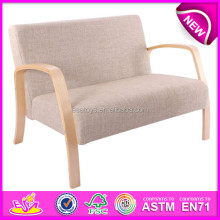 Modern design living room sofa chairs,Fashion comfortable wooden sofa chair,hot sale wooden toy sofa chair W08F031