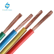 hot selling 1.5mm 2.5mm 4mm 6mm building cable pvc insulated single stranded dubai copper wire