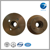 Cast iron sand casting atv front wheel hub