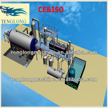 2013 New waste plastic/rubber/tyre/tire oil refinery plant/machine/equipment