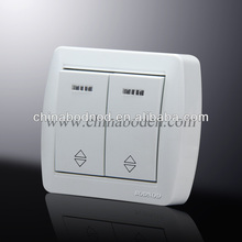 types of electrical wall switches pc material and brass parts hot sale