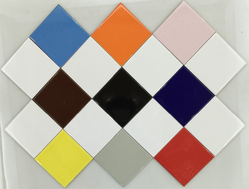 150x150 Super white waterproof non-slip interior kitchen ceramic floor wall tile