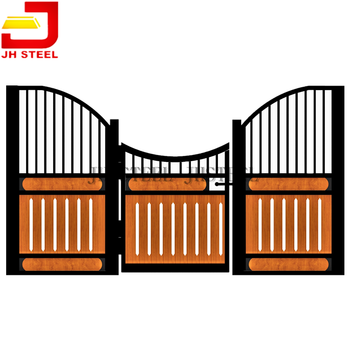 Hot Sale Customized Metal Low Wooden Exotic Horse Stable Fronts Manufacturers