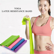 Resistance Band Body Workout GYM Abdominal Exercise Fitness Yoga stretch band