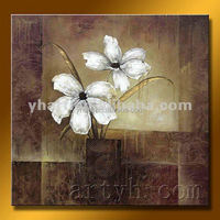 Wall Decor Handmade Modern Bedroom Custom Home Decor Painting Art Canvas Oil Painting Flower for Germany