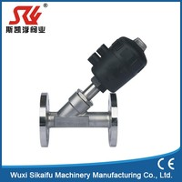 Quality first y type angle seat valve