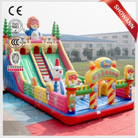 Children games air castle/inflatable toys/air bounce