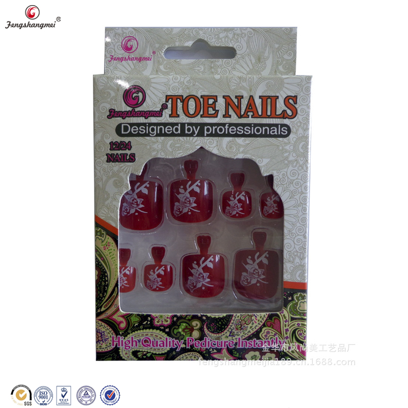fengshangmei toe tips art nail designs artificial different types of artificial false toe tips