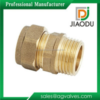 npt forged brass male threaded 54mm npt forged brass male threaded compression copper pipe straight fitting