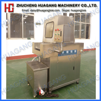 Brine injection machine for chicken