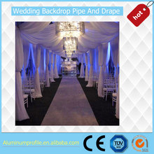 hot sale wedding ceiling drapery decoration for wholesale