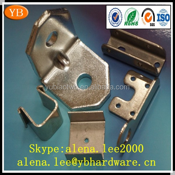 Precision sheet metal stamping and plating ISO9001 passed