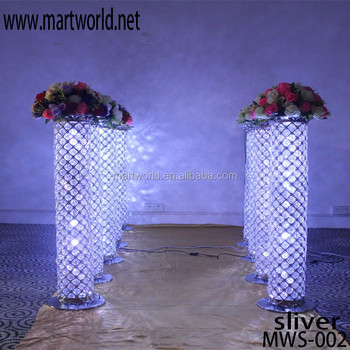 2018 new acrylic led lighting elegant pillar columns for wedding 2018 new acrylic led lighting elegant pillar columns for wedding decoration for wholesale mws junglespirit Choice Image
