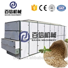 2017 New food grade continuous dog feed dryer dehydrator paddy onion drying machine luggage hardware