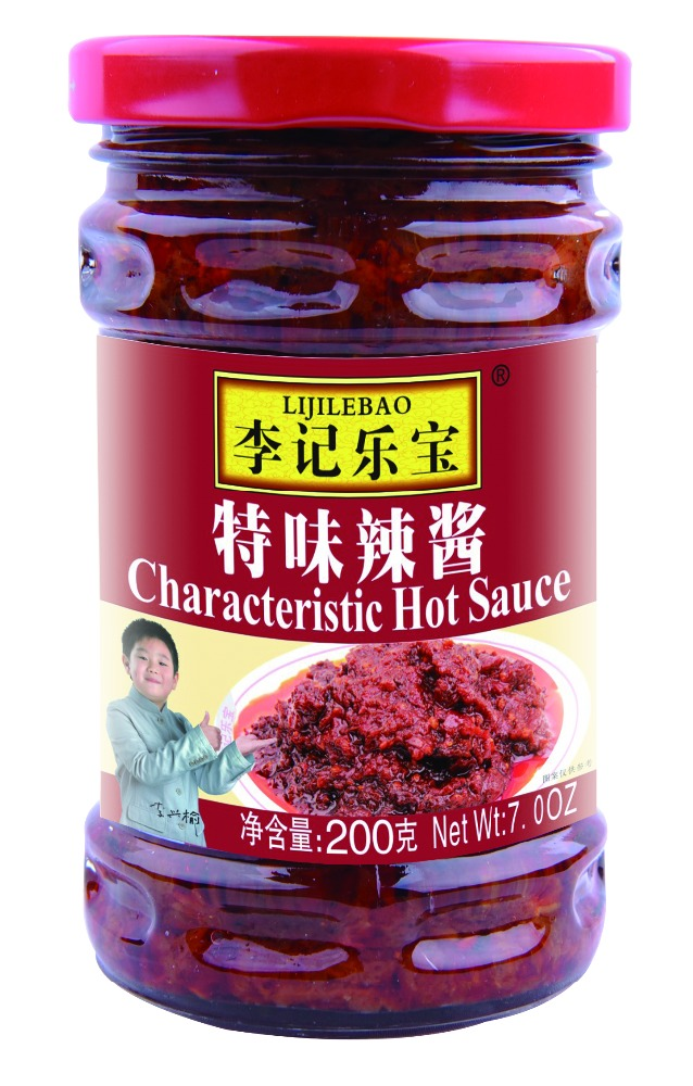 Sichuan special flavor chili sauce ,family use chili paste