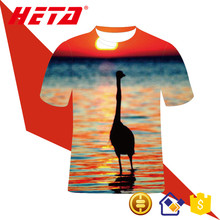 Accept Oem Printing Logo Various Color Sublimation 100% polyester Custom T Shirt Printing