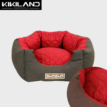 Premium handmade cheap dog beds with removable cushion