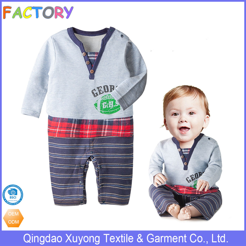 Baby boy romper cotton toddler clothing