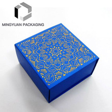 Customized Nice Design Empty Makeup Luxury Coated Paper Perfume Gift Packaging Box With Wholesale