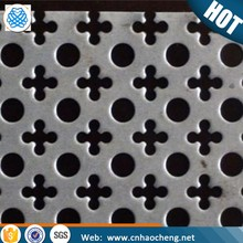 Square/round holes perforated metal mesh/stainless steel/galvanized sheet