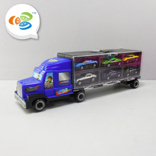 factory direct sales shipping mini cars container truck model for kids