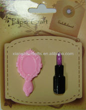 2014 new resin embellishments for cell phone decoration