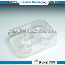 middle plastic box for cosmetic packaging