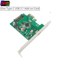 USB3.1 SuperSpeed 10Gbps Type-C port PCI Express Host Card