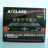 Az class S1000 receptor fta hd receiver 1080p for south america