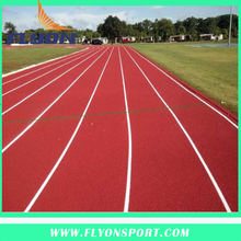 Outdoor Flooring by Spray Coating machine Flooring outdoor Sport Stadium surfaces Tartan Flooring Surface athletic track
