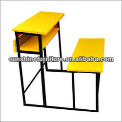 Wooden Top and Seat Student Desk