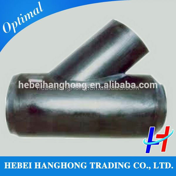 Trade Assurance Supplier Pipe connector 45 degree y branch pipe fitting lateral tee