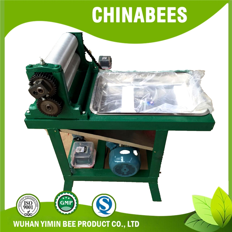 Electric beeswax foundation machine /beeswax foundation roller flower pattern beekeeping equipment