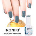 RONIKI Profesional Cheap Wholesale Free Sample Easy Soak Off Uv Gel Nail Polish OEM For Nails