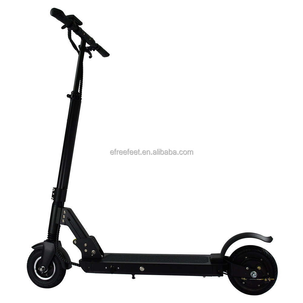 8 inch wheels good suspension pedals e scooter electric two wheel with pedals