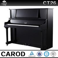 foreign musical instrument and chinese handmade black polished grand and upright piano
