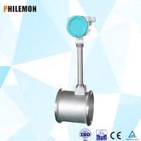 Flange Card Type Diesel Fuel Nature Gas Vortex Flow Meter