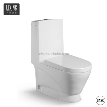 Vitreous china real estate material building high flushing wc price bulk toilet