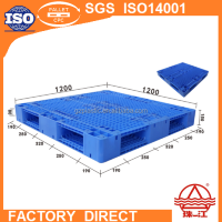 plastic pallet with rfid tag for logistics racking system