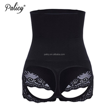 Palicy Amazon Hot 2017 Women 4XL Seamless Tummy Control High Waist Slim Body Weight Loss Seamless Invisible Butt Lifter Panties