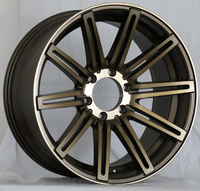 20 inch alloy wheels with dual spokes made in china