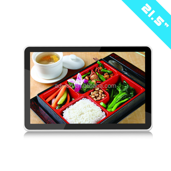 10 -84 inch super slim wall mount LCD advertising display/advertising player/lcd display