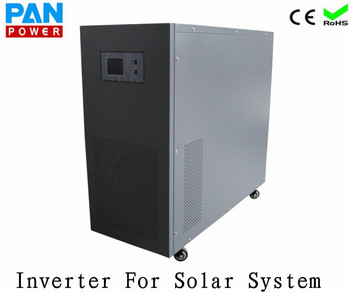 Pure Sine Wave 96V 6000W dc ac Inverter 110/220/230/240VAC Output With Charger For Solar PV System