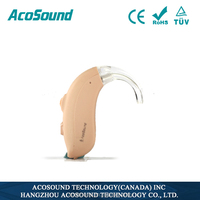 China Alibaba AcoSound Acomate 420 BTE CE TUV ISO Proved Cheap digital bluetooth hearing aids