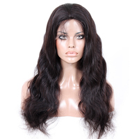 2016 New Design silk top wig without adjustable strap and combs 100% Virgin Brazilian Human Hair Silk Top Full Lace Wig