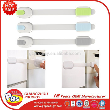 Wholesale baby safety cabient lock plastic adhesive baby safety lock