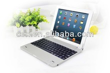 Wholesales High Quality Bluetooth Wireless Metal Aluminum Keyboard Case Cover for iPad 2 3 4