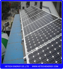 3KW solar power system for homeuse on-grid/off-grid tied Solar System