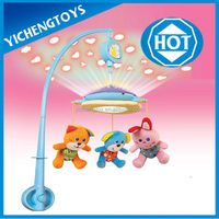 Musical Baby Mobile With Colorful Light
