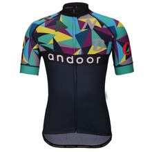 Man's Cycling Jersey Short Sleeve Andoor 2017 New Creative Design Bicycle Breathable Road Bike Shirt